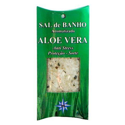Sal de Banho Aromatizado - Aloe Vera - 100g