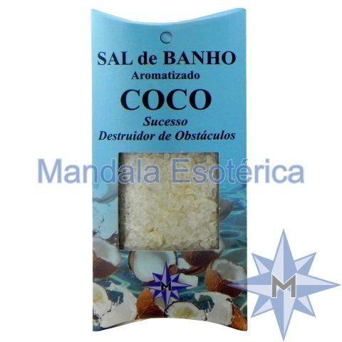 Sal de Banho Aromatizado Coco - 100g