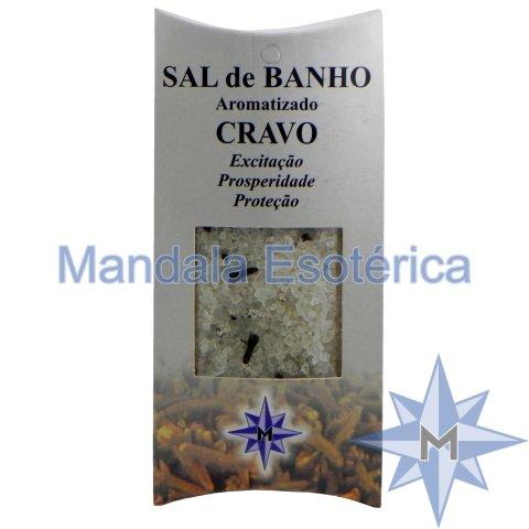 Sal de Banho Aromatizado - Cravo