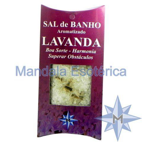 Sal de Banho Aromatizado - Lavanda - 100g