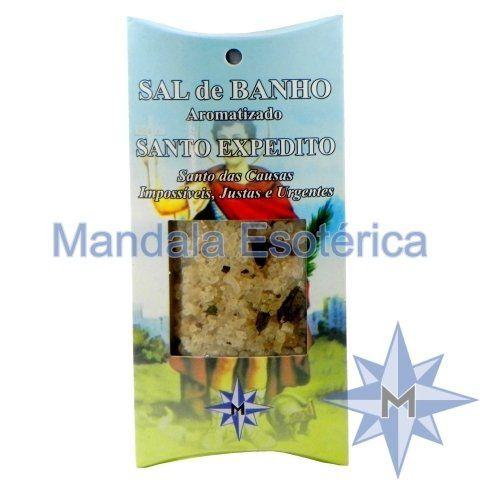 Sal de Banho Aromatizado - Santo Expedito - 100g
