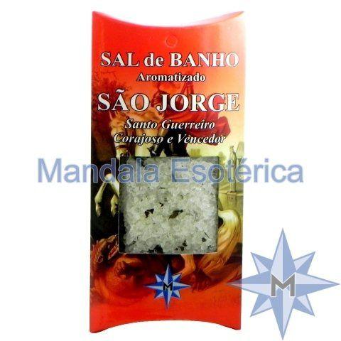 Sal de Banho Aromatizado - São Jorge - 100g