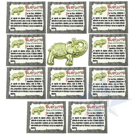 Amuleto Elefante - Força e Inteligência