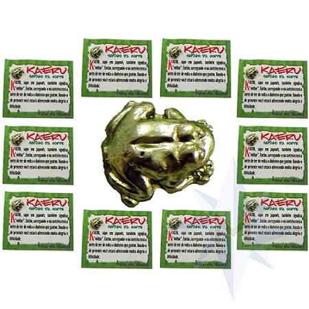 Amuleto Kaeru - Sapinho da Sorte