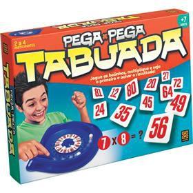 JOGO DE TABULEIRO PEGA PEGA TABUADA