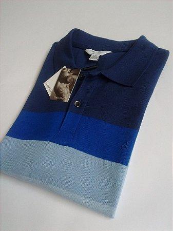 Camisa Polo Calvin Klein Jeans Azul
