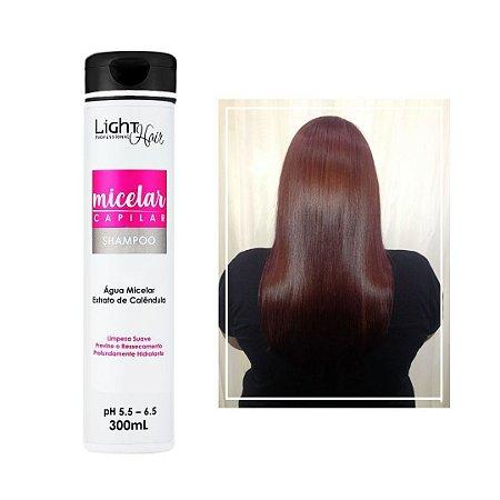 Shampoo Hidro Nutrição Micelar Capilar - 300 ML - Light Hair