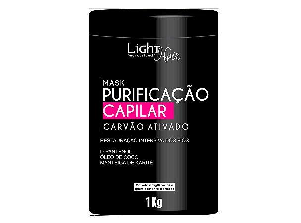 MÁSCARA PURIFICAÇÃO CAPILAR CARVÃO ATIVADO 1KG