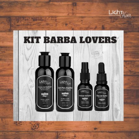 Kit Barber Shop - Barba Lovers