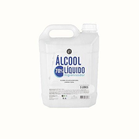 ÁLCOOL LÍQUIDO - 5 LITROS