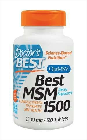 Doctors Best MSM 1500 (120 Tablets)