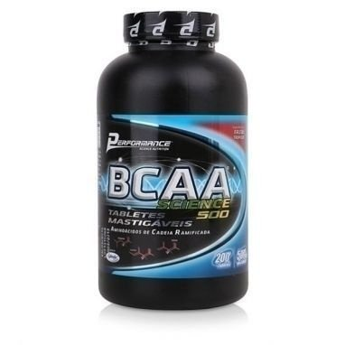 BCAA Science 500mg Performance Nutrition 200 Tabletes