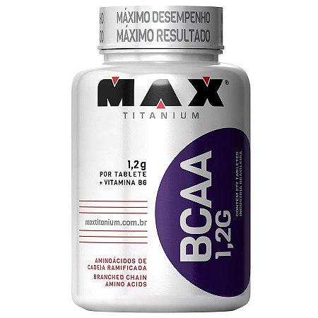 BCAA 1,2g Max Titanium 272 Tabletes