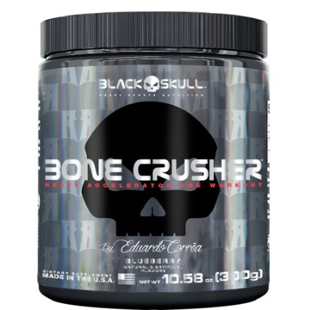 Bone Crusher Black Skull 300g