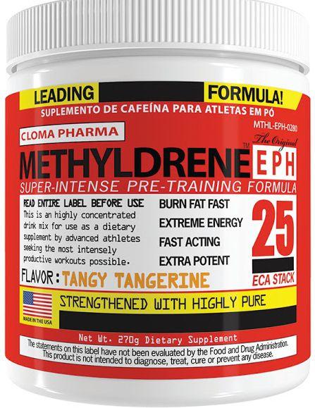 Methyldrene EPH 25 Eca Stack Cloma Pharma 270g