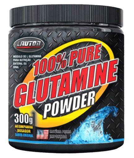 100% Pure Glutamine Powder Lauton 300g