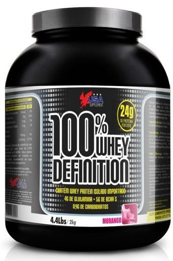 100% Whey Definition  USA Supplement 2000g