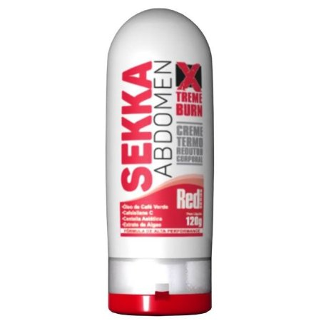Sekka Abdomen Creme Redutor Red Series 120g