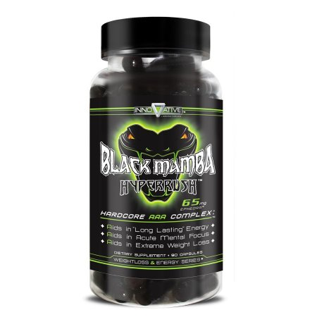 Black Mamba Hyperrush Innovative Labs 90 Cápsulas