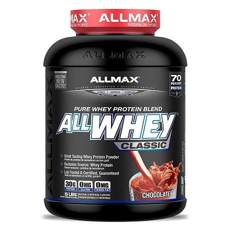 Allwhey Classic Allmax Nutrition Morango 2270g