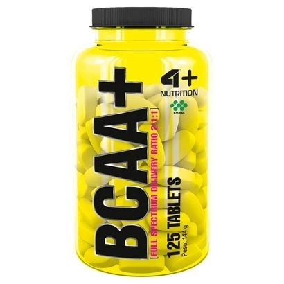 BCAA+ 4+ Nutrition 125 Tabletes