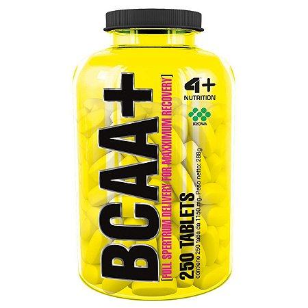 BCAA+ 4+ Nutrition 250 Tabletes