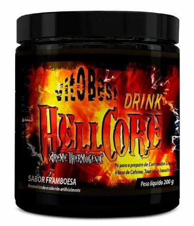 Hell Core Drink Xtreme Thermogenic VitOBest 250g