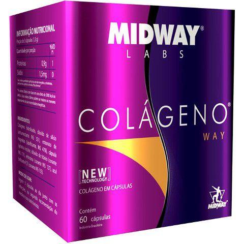Colágeno Way Midway 60 Cápsulas