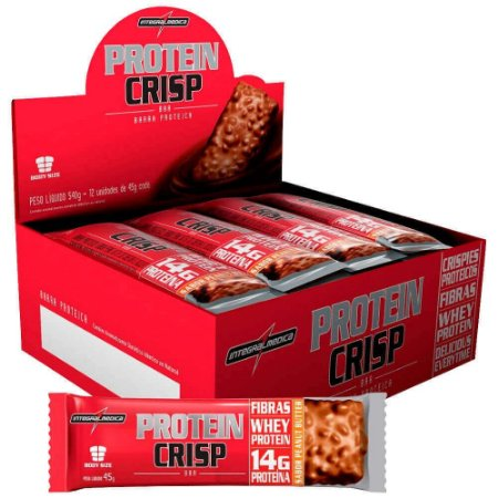 Protein Crisp Barra Proteica Integralmédica 12 Unidades
