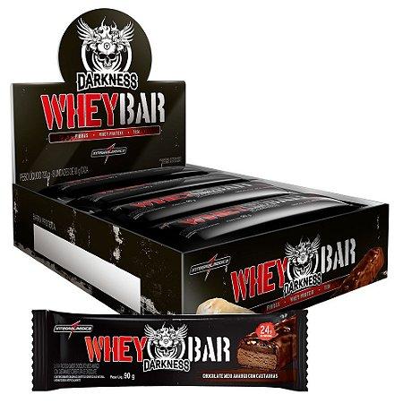 Whey Bar Darkness Integralmédica 8 Unidades