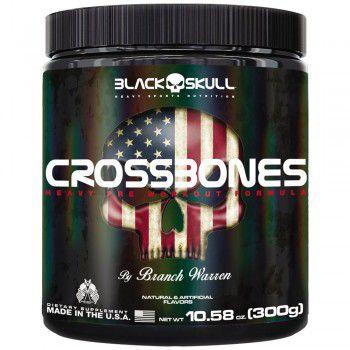 Crossbones Black Skull 300g