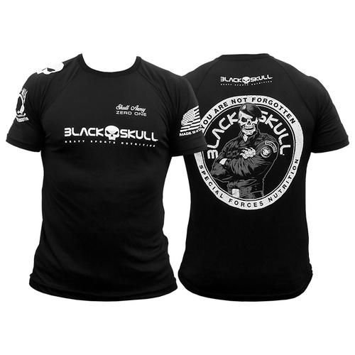 Camiseta Black Skull Bope Dry Fit
