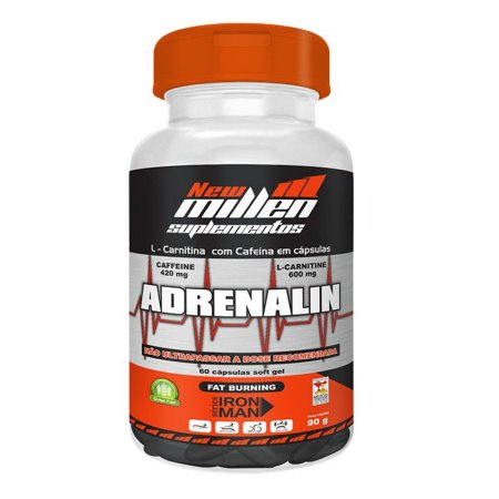 Adrenalin New Millen 60 Cápsulas