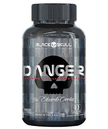 Danger Black Skull 60 Cápsulas