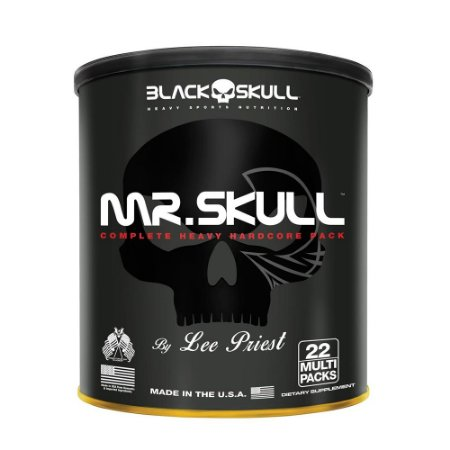 Mr. Skull Black Skull 22 Packs