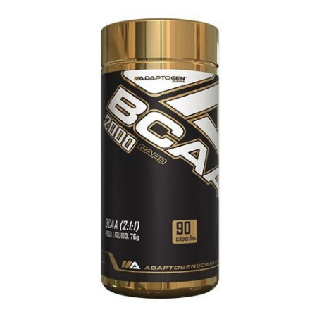 BCAA 2000 Adaptogen Science 90 Cápsulas