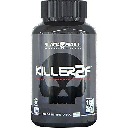Killer 2F Black Skull 120 Cápsulas