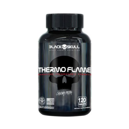Thermo Flame Black Skull 120 Tablets