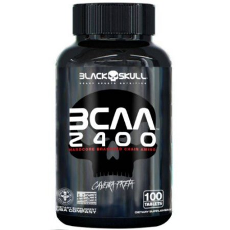 BCAA 2400 Black Skull 100 Tablets