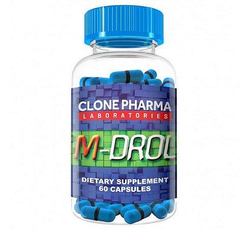 M-Drol Clone Pharma 60 Cápsulas