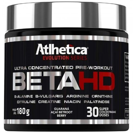 Beta HD Atlhetica Nutrition 180g