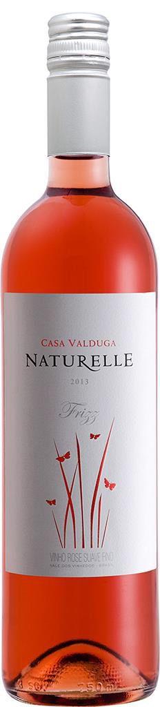 Vinho Casa Valduga Naturelle Rosé Suave 750 ml