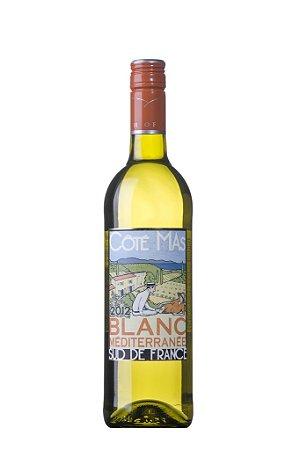 Vinho Branco Francês Côté Mas Blanc Méditerranée 750 ml