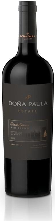 Vinho Tinto Argentino Doña Paula Estate Black Edition • Red Blend 750 ml