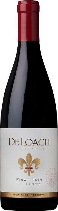Vinho Tinto Americano De Loach Pinot Noir 750 ml