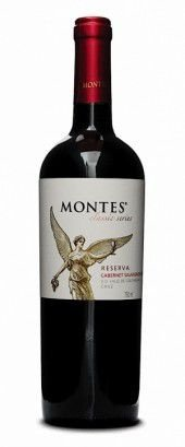 Vinho Tinto Chileno Montes Cabernet Sauvignon Reserva 750 ml