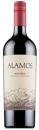 Vinho Tinto Argentino Alamos Malbec 750 ml