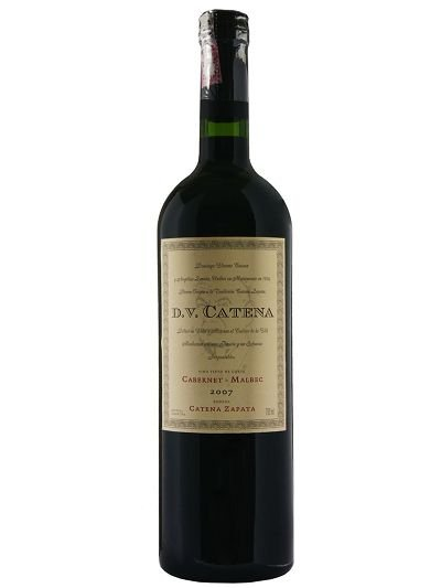 Vinho Argentino Tinto DV Catena Cabernet Malbec 750 ml