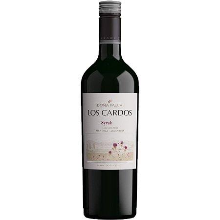 Vinho Tinto Argentino Doña Paula Los Cardos Syrah 750 ml
