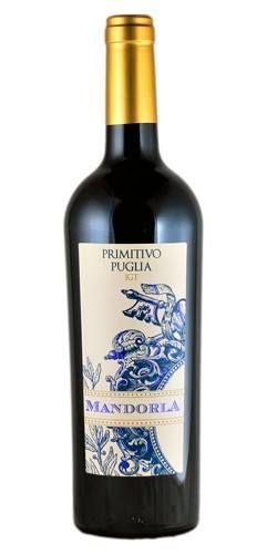 Vinho Tinto Mandorla Primitivo di Puglia IGT